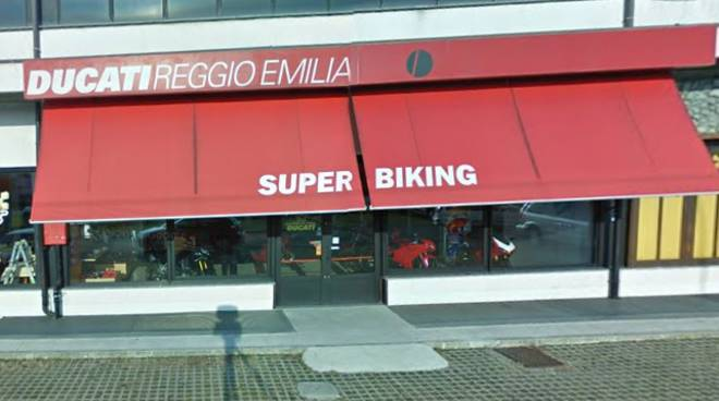 Concessionaria Ducati derubata