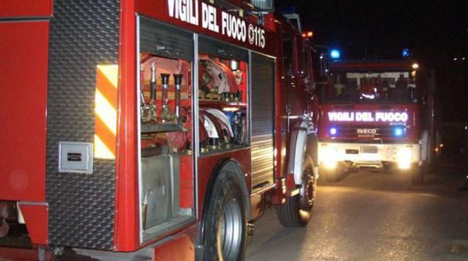 Montecchio incendio
