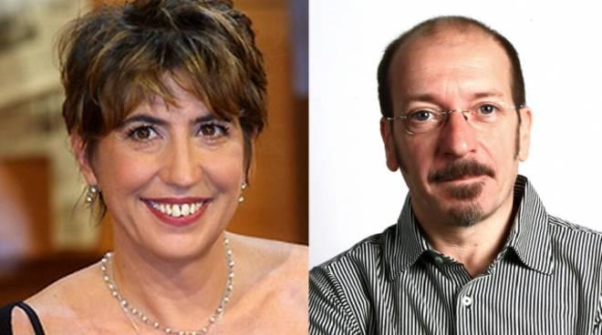 Serena Dandini e Dario Vergassola