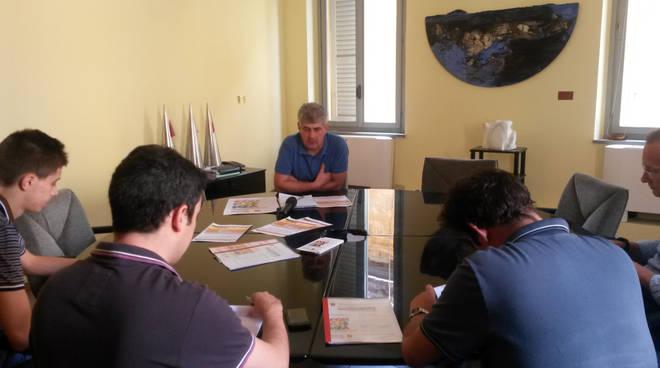 Il responsabile organizzativo della Cgil reggiana Luca Chiesi