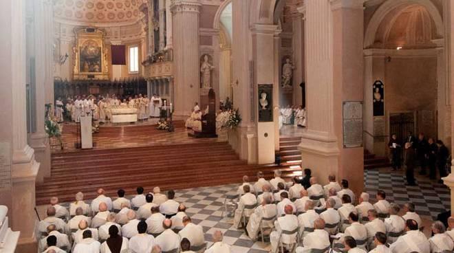 I sacerdoti in Duomo