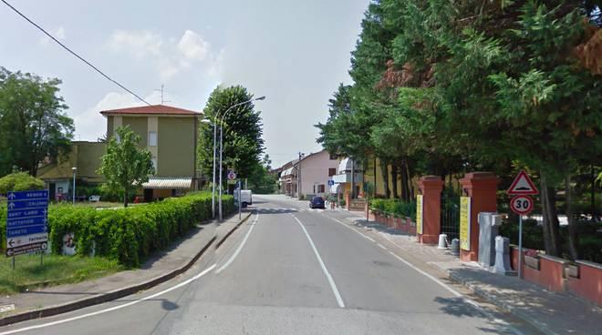 Via Nenni a Caprara di Campegine
