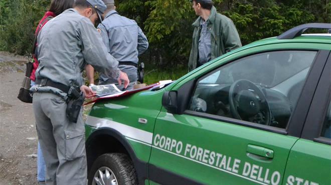 Agenti della Forestale