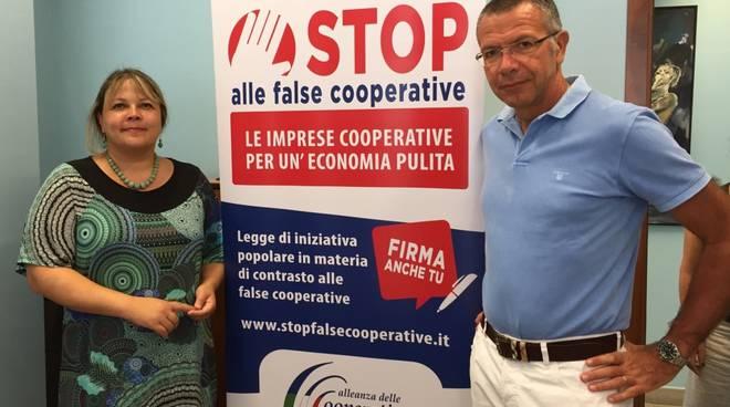 Livio Pallicelli e Claudia Aguzzoli