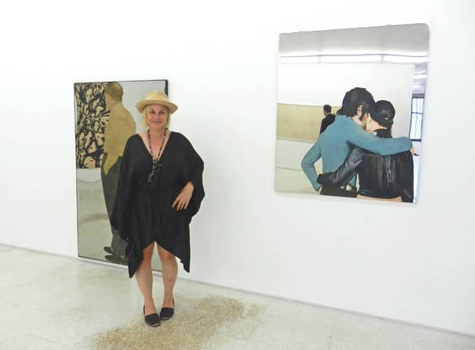 Patricia Arquette alla Collezione Maramotti