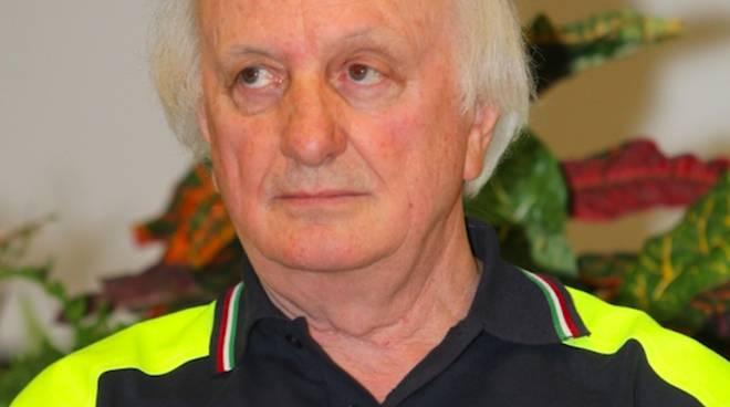 Volmer Bonini, numero uno dei volontari della Protezione civile regionalei