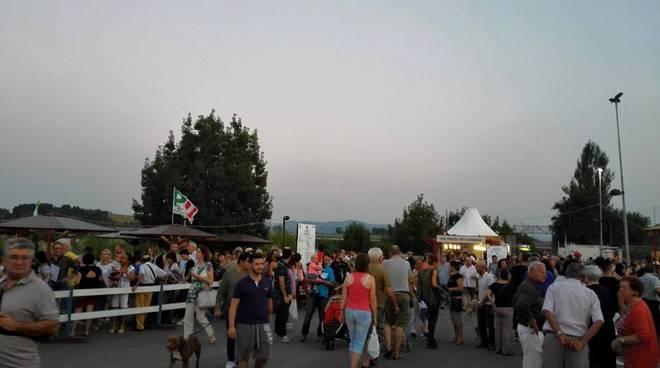 Sempre tantissimi visitatori alla Festa de L'Unità di Villalunga