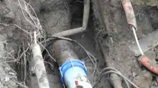 Castellarano circa 400 famiglie senza gas - Tubazioni gas metano interrate ...