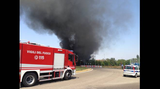 Incendio via Gattalupa