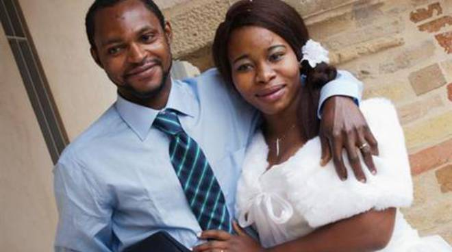 "Emmanuel Chidi Namdi e sua ""moglie"" Chinyery"