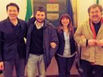 Marcello Moretti, Paolo Cervi, Roberta Mori e Gianni Maiola