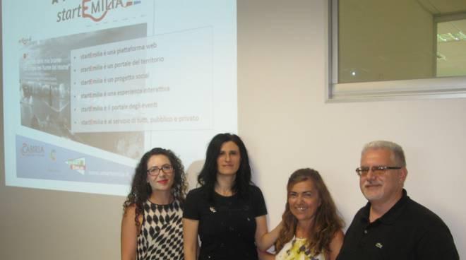 La presentazione del nuovo portal web StartEmilia