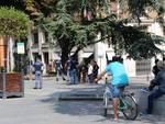 Minaccia ultras, piazza Prampolini blindata