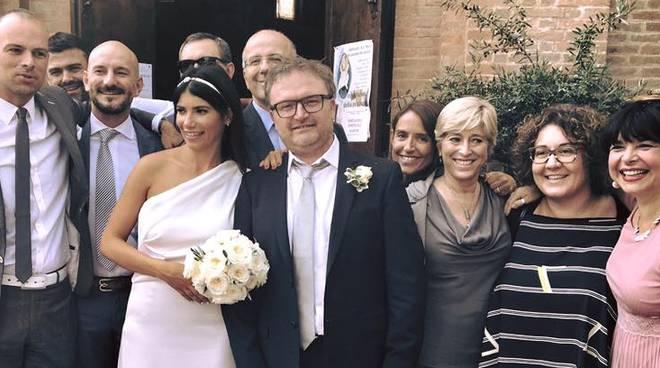 Massimo Gazza e Ottavia Soncini tra gli amici