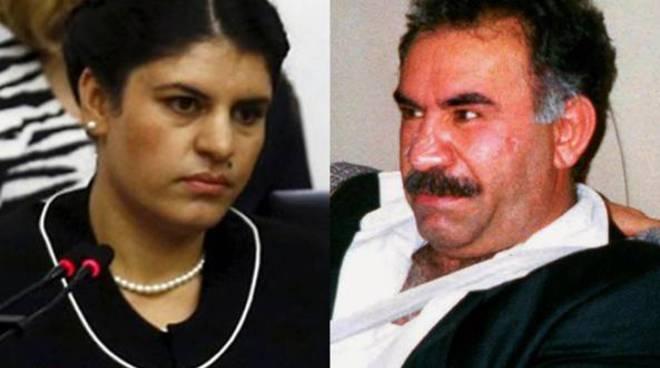 Dilek Ocalan e lo zio, Abdullah Ocalan