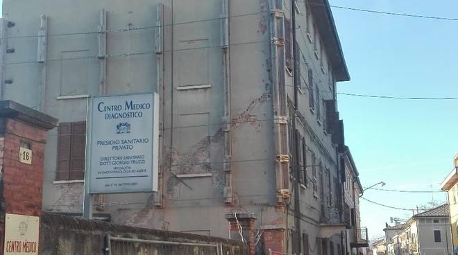 L'ex centro medico di Reggiolo