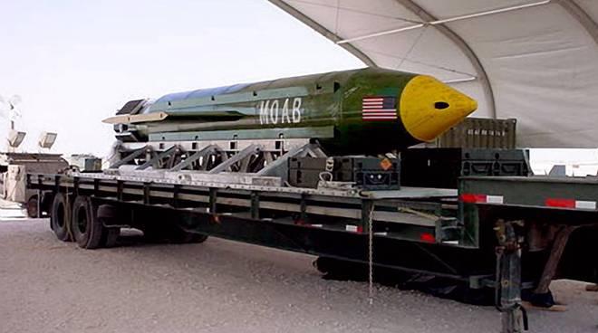 La bomba Massive Ordnance Air Blast