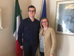 Alberto Carretti con Ilenia Malavasi