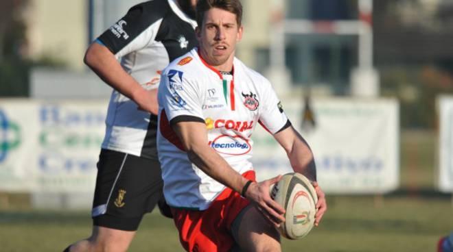 Rugby: un momento del match della Conad Reggio