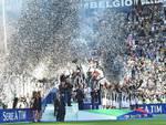 I festeggiamenti per lo scudetto alla Juventus