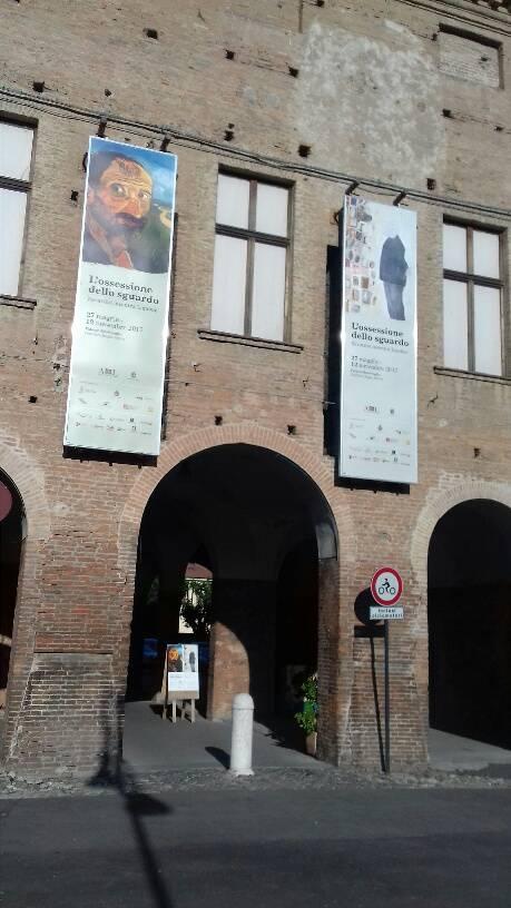 Palazzo Bentivoglio, dove è stata allestita la mostra