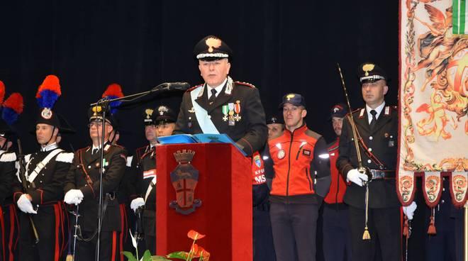 Il comandante provinciale dei Carabinieri, colonnello Antonino Buda