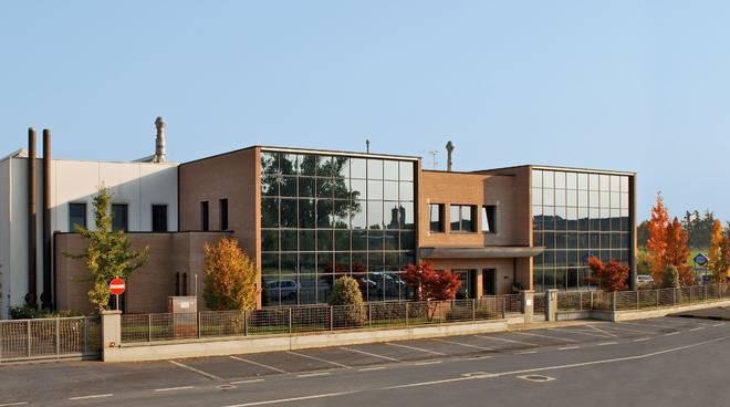 La sede della Ghepi, a Corte Tegge di Cavriago
