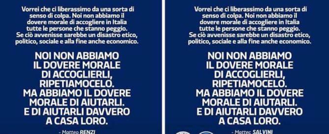 Il post ironico fatto da Matteo Salvini su Twitter
