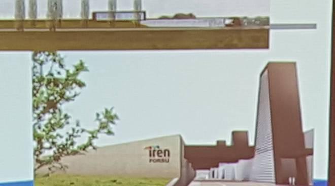Il progetto del nuovo impianto Iren a Gavassa