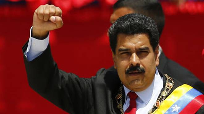 Il presidente Nicolas Maduro