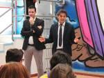 Il sindaco di Quattro Castella, Andrea Tagliavini, e il vicesindaco Tommaso Bertolini