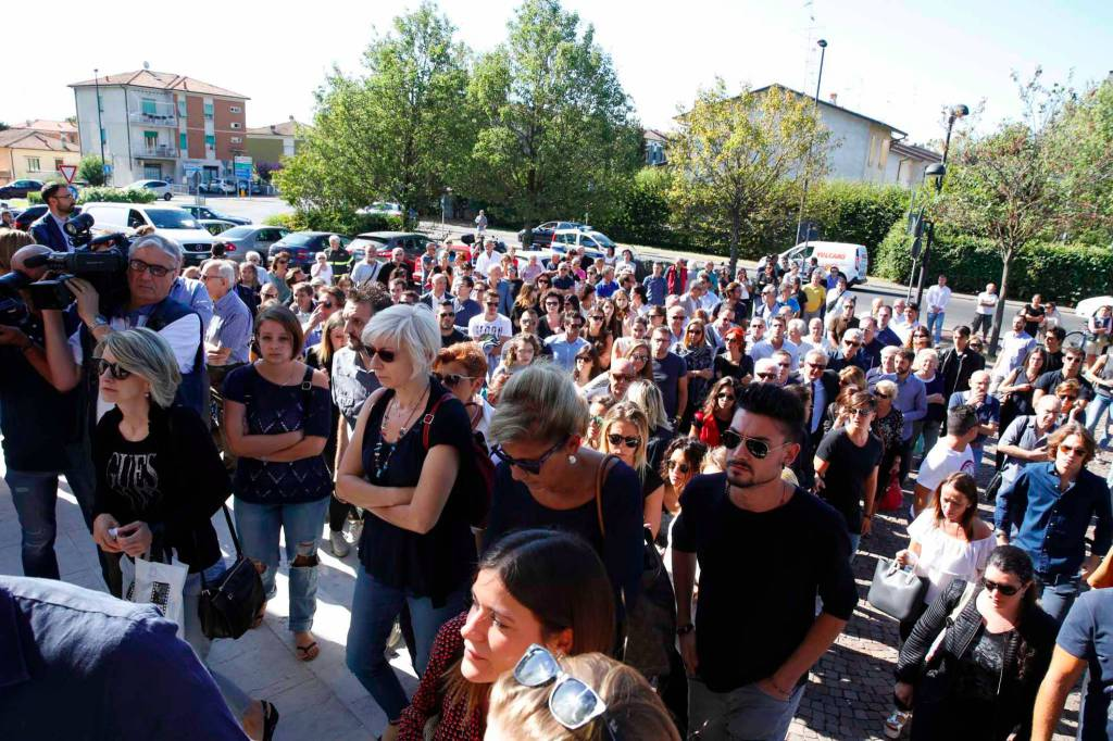 I funerali di Mattia Dall'Aglio