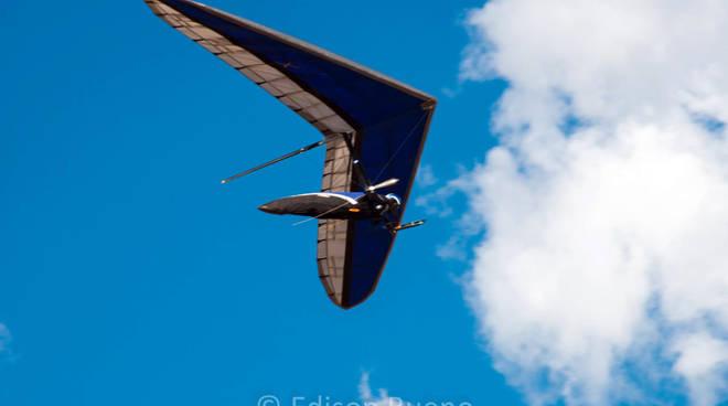 Un deltaplano italiano ai mondiali in Brasile