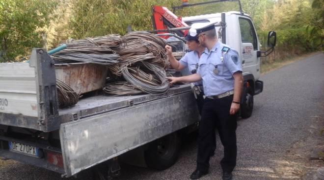 Parco Caprette, tentano di rubare cavi di rame dell ...