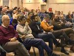 L'assemblea di Articolo Uno - Mdp, Possibile e Sinistra Italiana