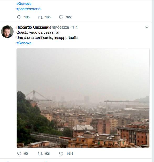 Il crollo di Genova