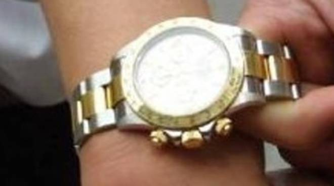 Scippo di Rolex