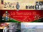"""Il Centro Acquisti """"La Terrazza"""" compie 25 anni - Musica, mostre, amarcord, cene a tanto altro dall'8 al 16 settembre a Montecchio"""