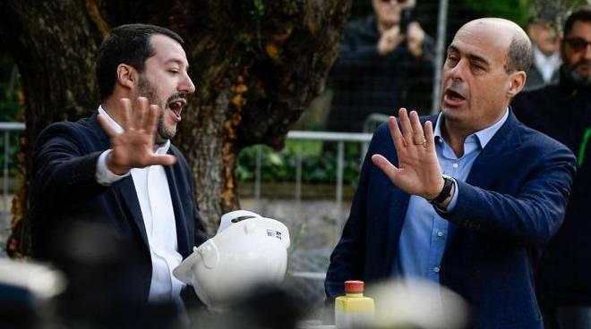 Salvini-Zingaretti
