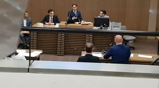 Il sindaco Carletti davanti al Gip Ramponi