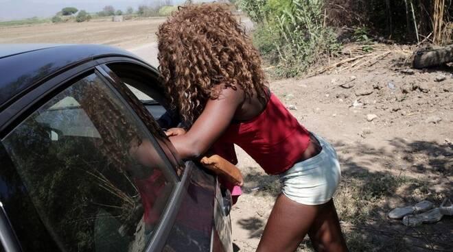 Una prostituta di colore
