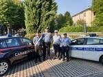 La polizia locale e i carabinieri di Correggio