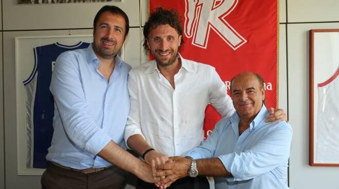 Luca Infante con Frosini e Paterlini