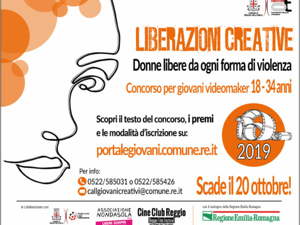 Donne, contest per spot contro violenza di genere Reggiosera
