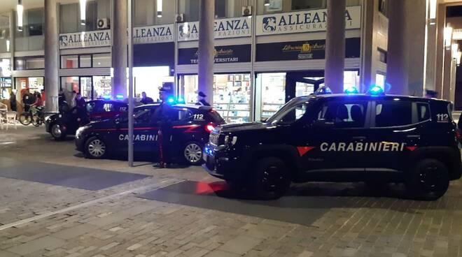controlli dei carabinieri