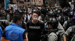 Arresti a Hong Kong
