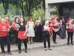 Flash mob in via Paradisi