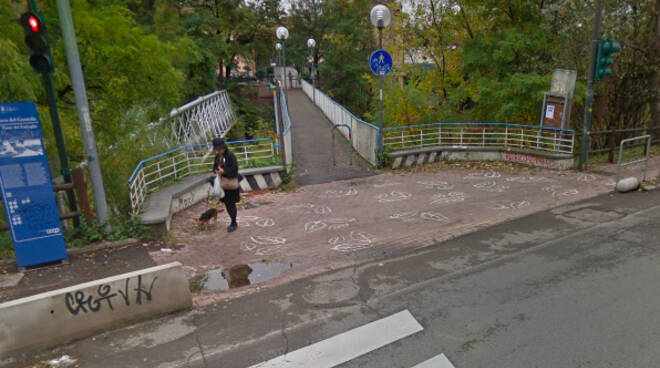 La passerella del Gattaglio