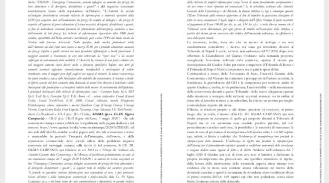 La sentenza del Tribunale di Napoli Nord